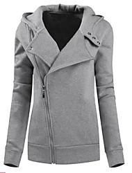 Pulls & Hoodies ( Coton ) Vintage / Informel Col roulé à Manches longues pour Femme