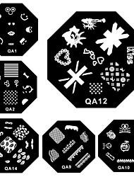 100 - Moules 3D en  acrylique pour ongles - Doigt - en Mariage - 10*6*2