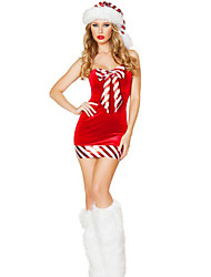 Women's Sexy Red Candy Cane Costume