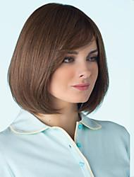 couleur brun synthétique perruques de cheveux de qualité supérieure de qualité