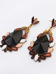 European Style Fashion Teardrop-shaped Vintage Drop Earrings