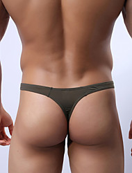 Men's Sexy Ice Silk / Nylon G-string Thong Underwear Men's Lingerie