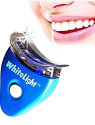 dentes branqueamento luz acelerador de mão levou, azul