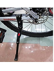MTB Bicycle Adjustable Aluminum Alloy Tripod Parking Bracket(Black)