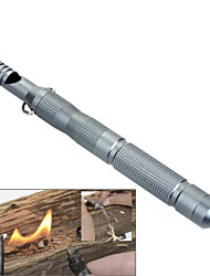 LAIX® EDC Outdoor Wilderness Survival Multi-Tactical Tools Fire Stone Flint/Whistle / Glass Breaker