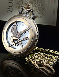 Hunger Games 3 Xinghuoliaoyuan  Bird laugh Vintage Shiying Huai table Flip pocket watch Necklace Watches Cool Watches Unique Watches