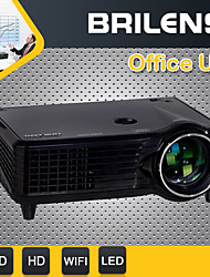 BRILENS® BL960 Home Theater Projector 2000lumens Lumens SVGA (800x600) DLP Android 4.2