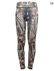 Running Tights / Leggings / Bottoms Women's Compression Yoga / Camping & Hiking / Running Sports High Elasticity TightOutdoor clothing /