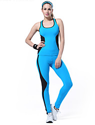 LEFAN Women's Sleeveless Compression clothing Clothing Sets/Suits TightsHigh Breathability / Stretch / Soft / smooth