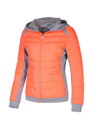 Women's Tops / Down Jackets Camping & Hiking / Snowsports / DownhillInsulated / Front Zipper / Windproof / Thermal / Warm / Lightweight