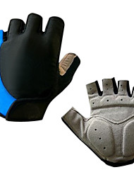Men's Cycling/ Bike / Bicycle Gloves Fingerless GEL Cushioning Bike Bicycle Half Finger Cycling Gloves