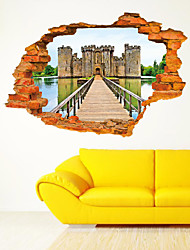 3D Sticker landscape Wall Stickers for Dining Room Kid Room Decorations Wall Decals Wall Art Decor