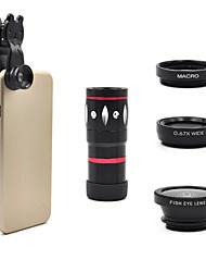 universelle zoom optique 10x lentille de la caméra du télescope pour téléphone mobile iPhone 5s 5g 5c 6 Samsung i9300 Galaxy S3 S4 note 2