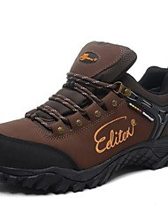 Men's Hiking Shoes Leather Taupe