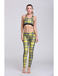 Running Bra / Pants / Clothing Sets/Suits / Bottoms Women's Sleeveless Lightweight Materials / Sweat-wicking Polyester / TeryleneYoga /