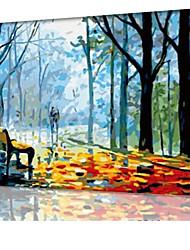 DIY digitales Ölgemälde Frame Familie Spaß Malerei alle von mir Freizeitpfad x5016