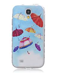 Umbrella TPU Leather Material Flip Card for Samsung Galaxy S3/S3Mini/S4/S4Mini/S5/S5Mini/S6/S6edge/S6edge+