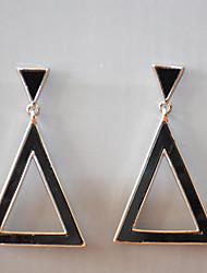 Earring Drop Earrings Jewelry Women Brass / Alloy 2pcs Silver