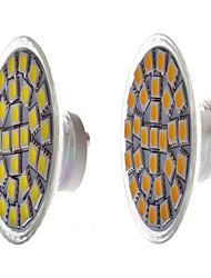 5W GU10 Faretti LED Modifica per attacco al soffitto 29 SMD 5050 450 lm Bianco caldo / Bianco Decorativo AC 85-265 V 1 pezzo