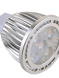 GU5.3(MR16) 7W 5x3030SMD 630 LM Warm White / Cool White MR16 Decorative Spot Lights AC 85-265 / AC 12 V