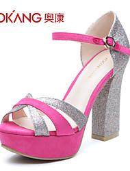 cuir sandales femmes aokang® - 132811006