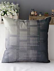 "43cm*43cm 17""*17"" Technology Cotton / Linen Cotton&linen Pillow Cover / Throw Pillow With No Insert"