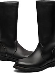 Для мужчин Ботинки Удобная обувь В ковбойском стиле Верховые ботинки Мотоциклетные ботинки Ботильоны Армейские ботинки СинтетикаВесна