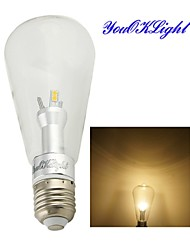YouOKLight® 1PCS New Approval E27 6W 500LM 3000K Warm White Edison LED Globe Bulbs (85-265v)