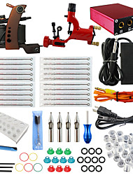 ITATOO® Tattoo Kits for Beginners Rotary and Coil Tattoo Machine with Free Gift of 20 Colors Ink