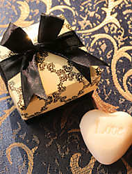 Mini Heart-Shaped Soap Baby Shower Favors