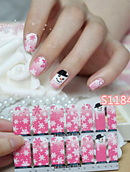 - Finger - 3D Nails Nagelaufkleber / Nail Schmuck - PVC - 1pcs Stück - 90*126mm cm