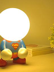 Schreibtischlampen - LED - Modern/Zeitgemäß / Traditionel/Klassisch / Rustikal/Ländlich - PVC