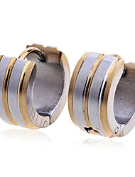 Women's Stud Earrings Fashion European Costume Jewelry Stainless Steel Gold Plated Jewelry For Party Daily Casual