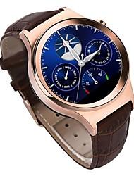 Bluetooth estilo rodada relógio inteligente t3 + relógio de pulso de luxo apoio cartão SIM tf