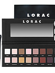 Lorac Pro Cosmetics Makeup Set(16 Colors Luminous Eye Shadow Palette with Mirror+1PCS Eye Primer Base)