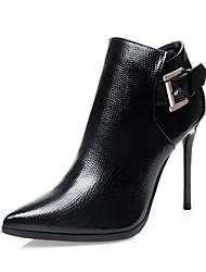 Women's Shoes Fleece Low Heel Heels Heels Casual Black / Red / Gray