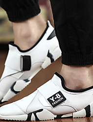 Men's Shoes Outdoor / Athletic / Casual Synthetic / Canvas Athletic Shoes Black / White