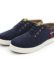 Men's Shoes Casual Fabric Fashion Sneakers Black / Blue / Brown