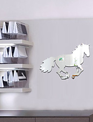 Animaux / 3D Stickers muraux Miroirs Muraux Autocollants , PS 35*25cm