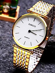 Unisex Fashion Mens Watches Stainless Steel Quartz Wrist watch Cool Watch Unique Watch