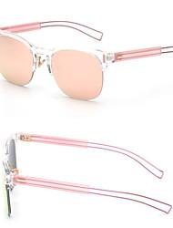 Sunglasses Women's Modern / Fashion Hiking Silver / Gold Sunglasses Half-Rim