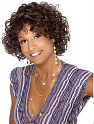 Fashion Africa Brown Curly Hair Wig