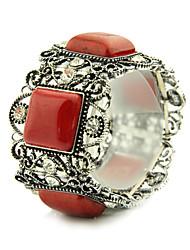 Women's Fashion Alloy Resin Stones Bracelets