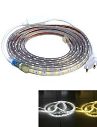 Jiawen водонепроницаемый 52W 3200lm 240x5050 SMD LED гибкие полосы света (4 м длины / 220В)