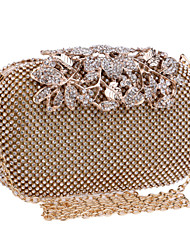 Для женщин Полиэстер / Металл Для торжеств и мероприятий / Для праздника / вечеринки / Для свадьбы Вечерняя сумочка Золотистый