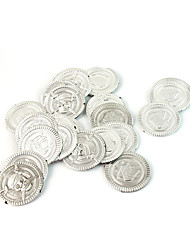 Silver Coin for Board Role-playing Games 100Pic