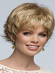 extensiones de mujeres de la señora europea peluca pelucas syntheic precio honesto bonito color