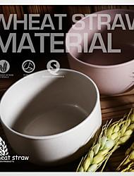 palha de trigo tigela material de 450ml