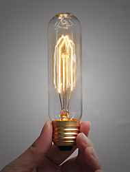 T10 25W 110V-240V Tube Edison Retro Decorative Light Bulbs