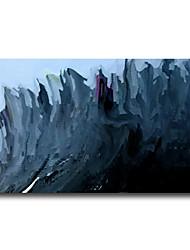 iarts®navy синий абстрактный лес recentage маслом в текстурированной